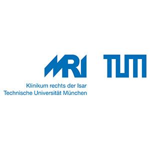 Logo - MRI - TUM Nebeneinander Blau