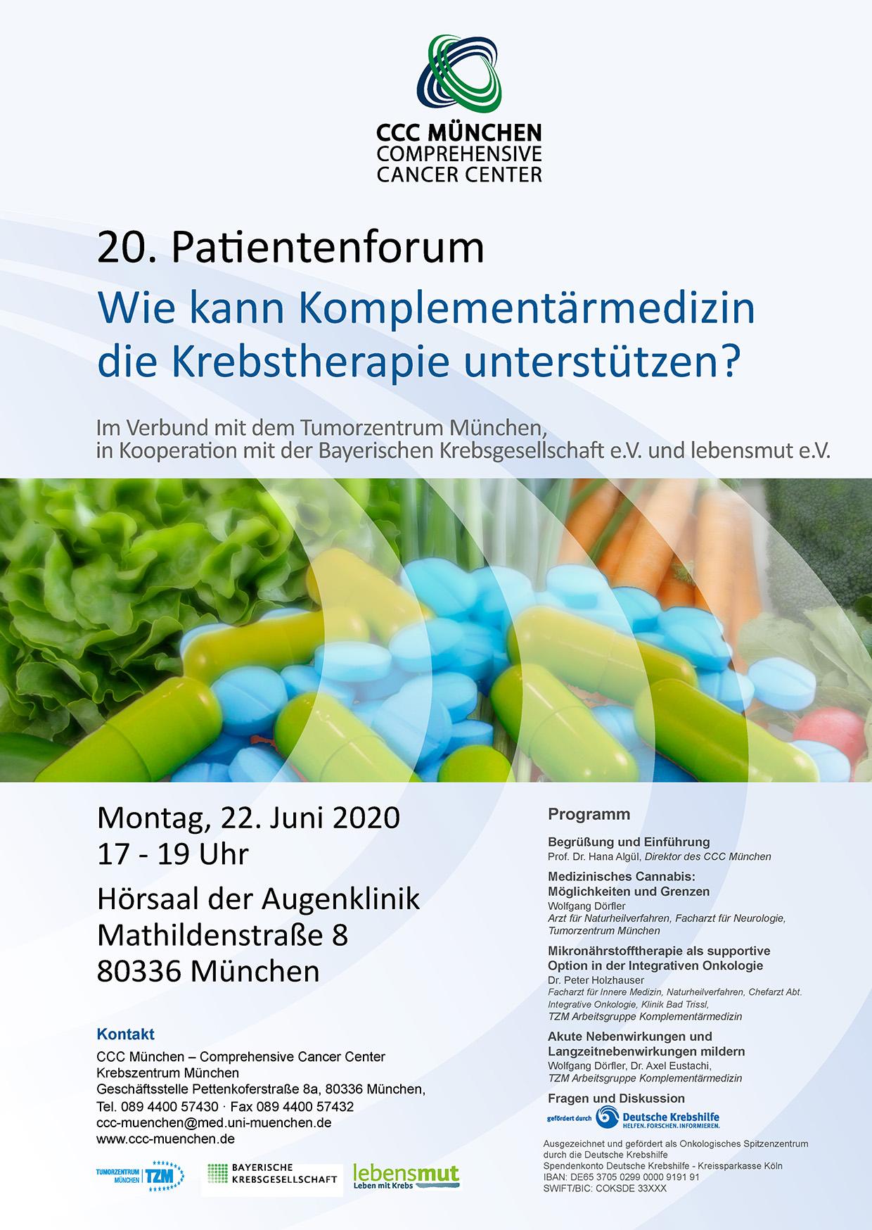 Poster - 20. Patientenforum